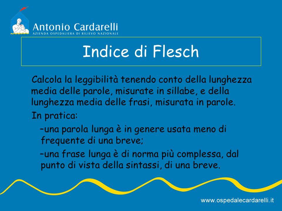 Indice di Flesch