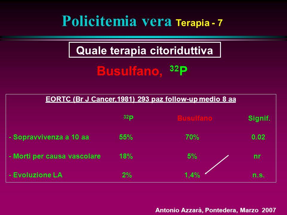 Policitemia vera Terapia - 7