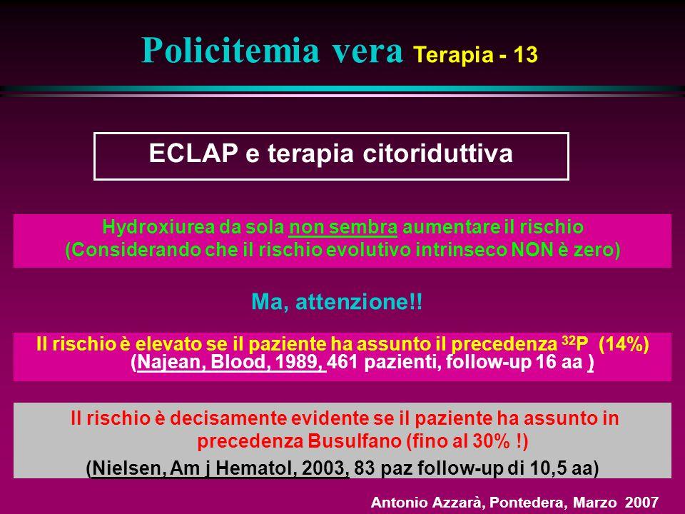 Policitemia vera Terapia - 13
