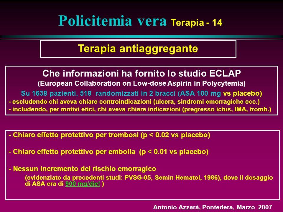 Policitemia vera Terapia - 14