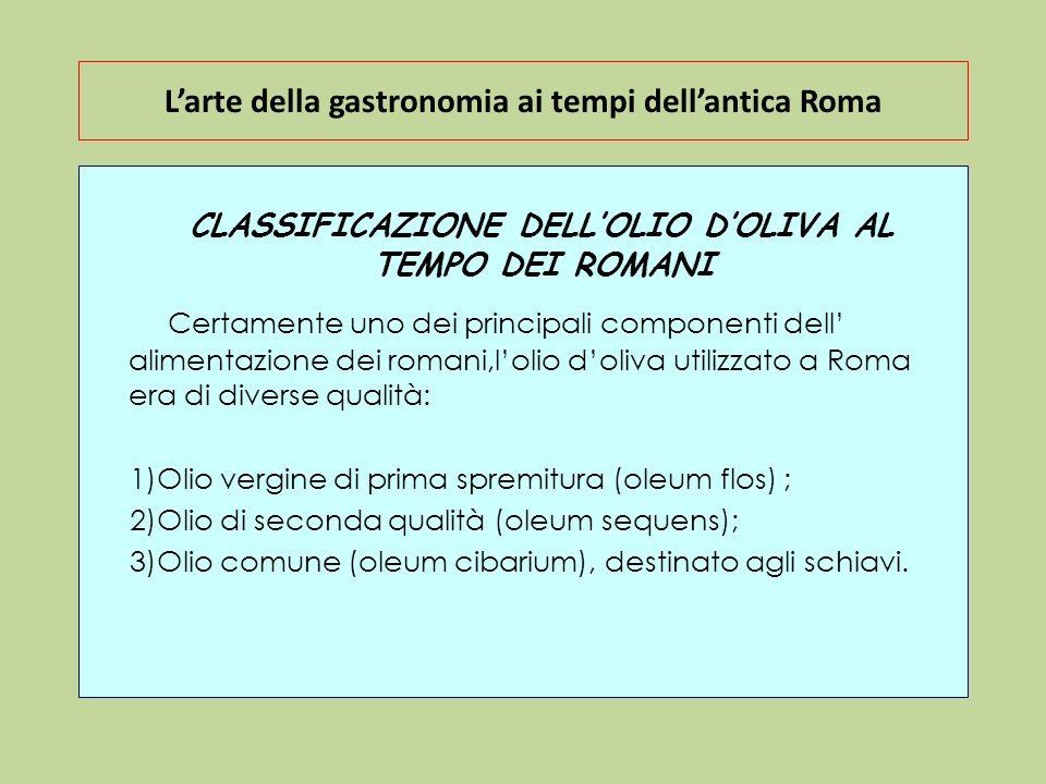 L'arte della gastronomia ai tempi dell'antica Roma