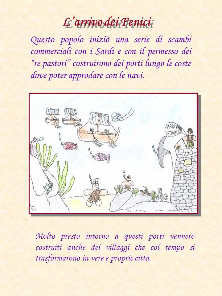 L'arrivo dei Fenici