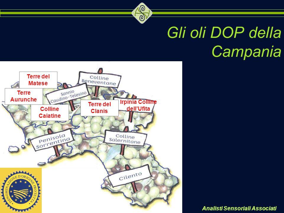 Gli oli DOP della Campania