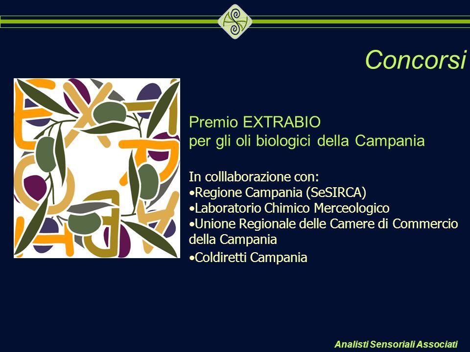 Concorsi Premio EXTRABIO per gli oli biologici della Campania