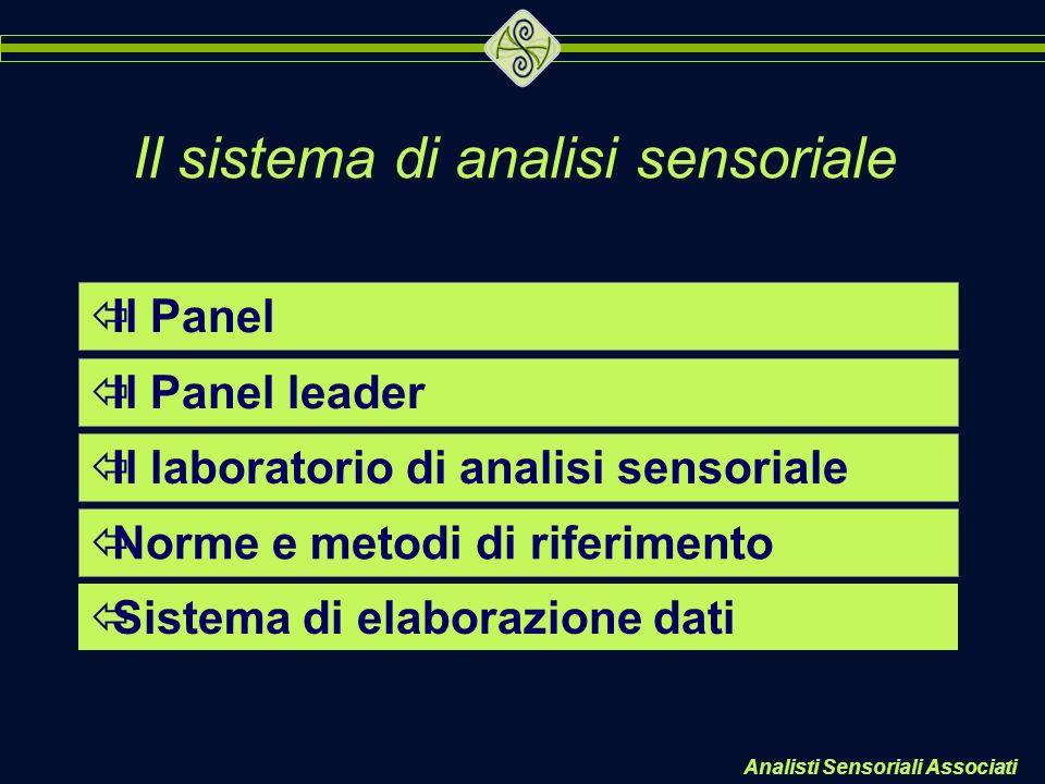 Il sistema di analisi sensoriale