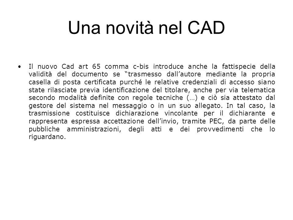 Una novità nel CAD