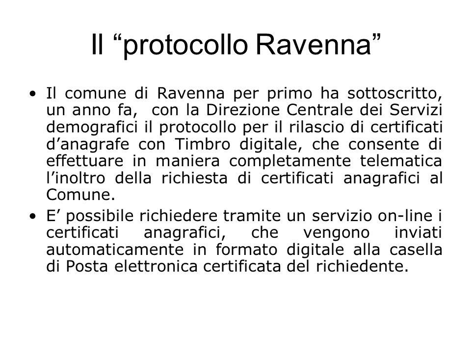 Il protocollo Ravenna