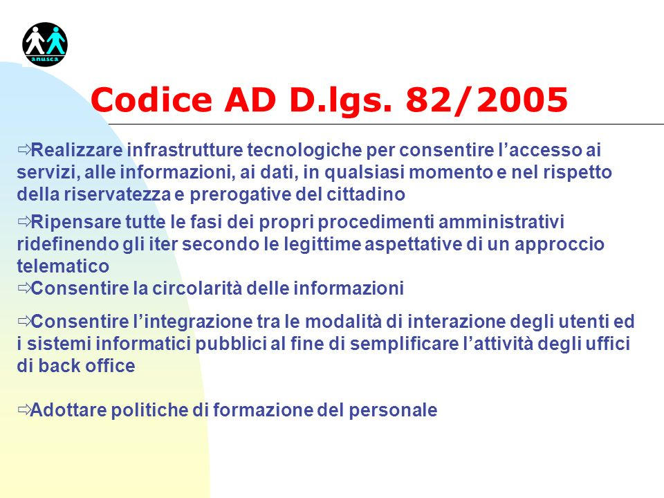 Codice AD D.lgs. 82/2005