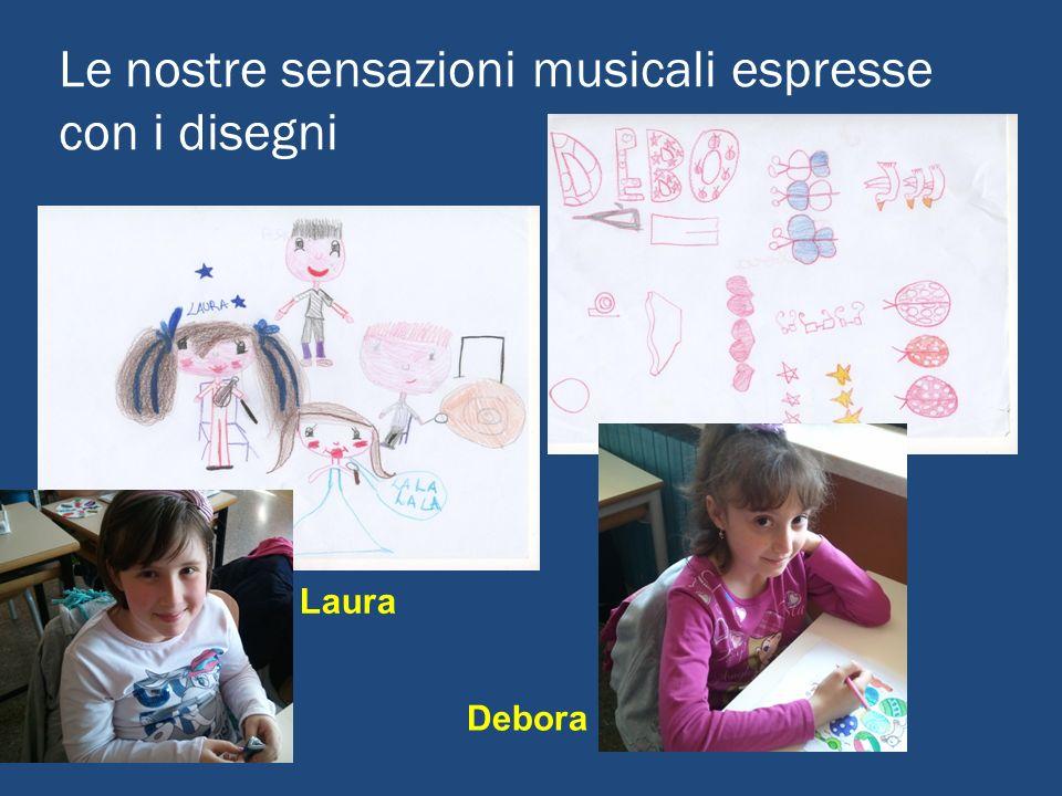 Le nostre sensazioni musicali espresse con i disegni