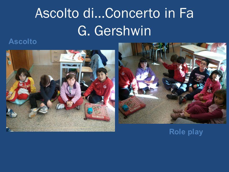 Ascolto di…Concerto in Fa G. Gershwin