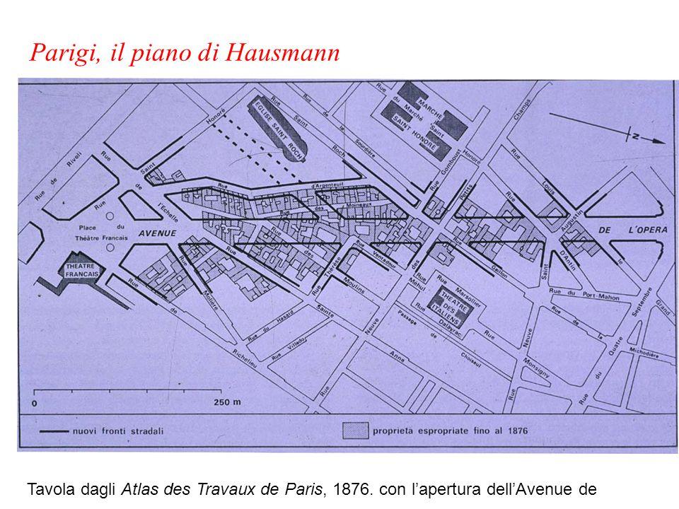 Parigi, il piano di Hausmann