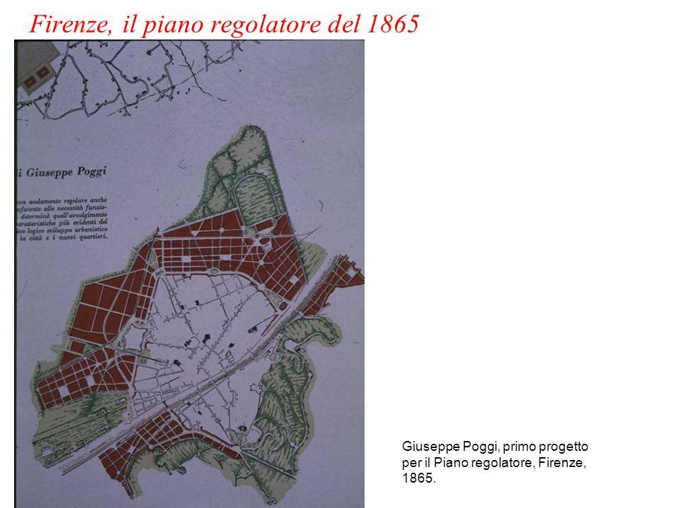 Firenze, il piano regolatore del 1865
