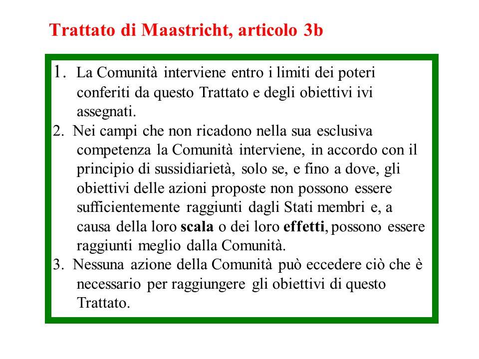 Trattato di Maastricht, articolo 3b
