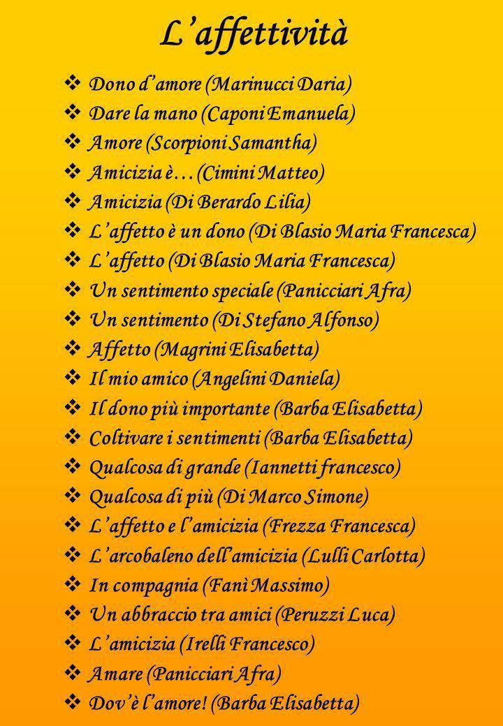 L'affettività Dono d'amore (Marinucci Daria)
