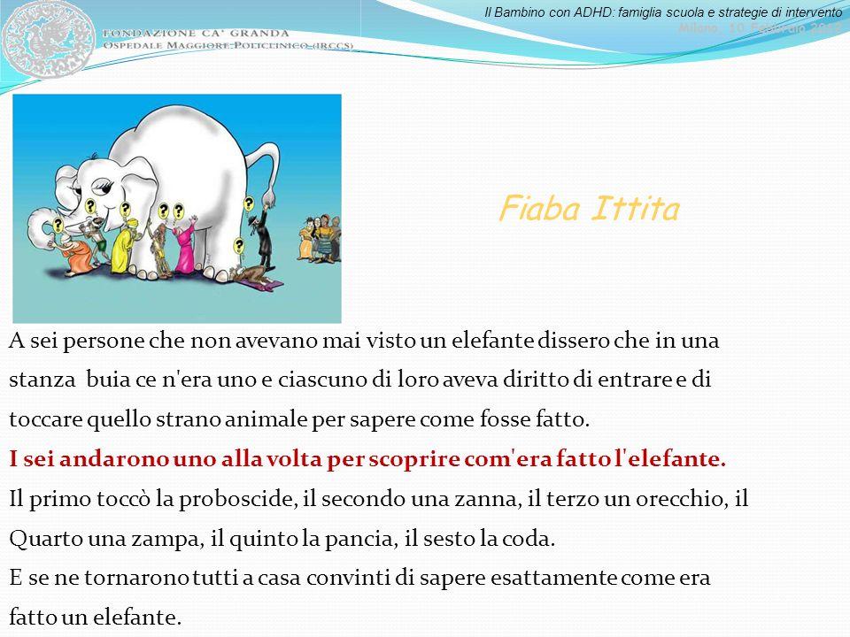 Fiaba Ittita A sei persone che non avevano mai visto un elefante dissero che in una.