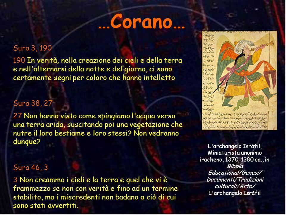 …Corano…Sura 3, 190.