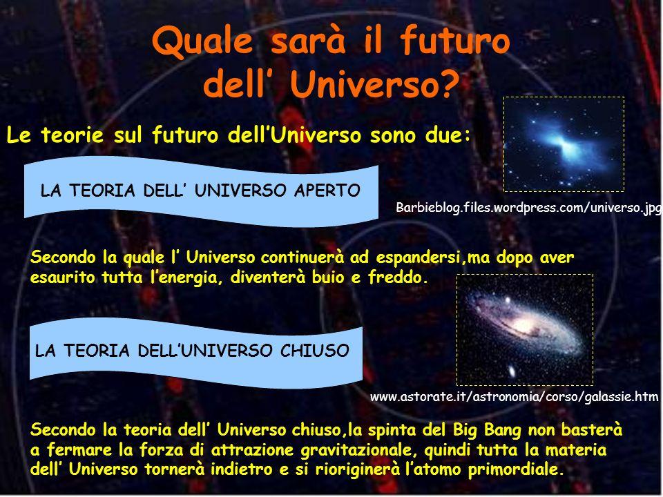 Quale sarà il futuro dell' Universo
