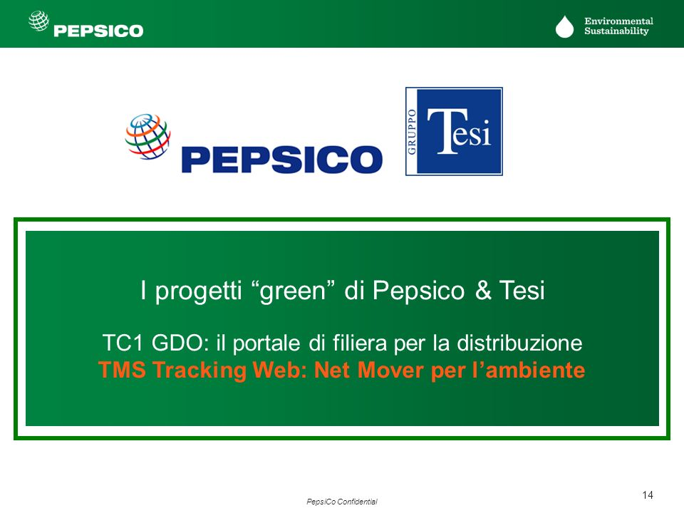 TMS Tracking Web: Net Mover per l'ambiente