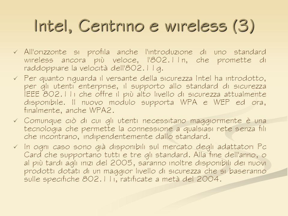 Intel, Centrino e wireless (3)