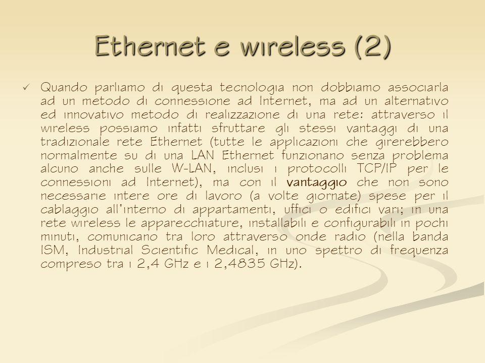 Ethernet e wireless (2)