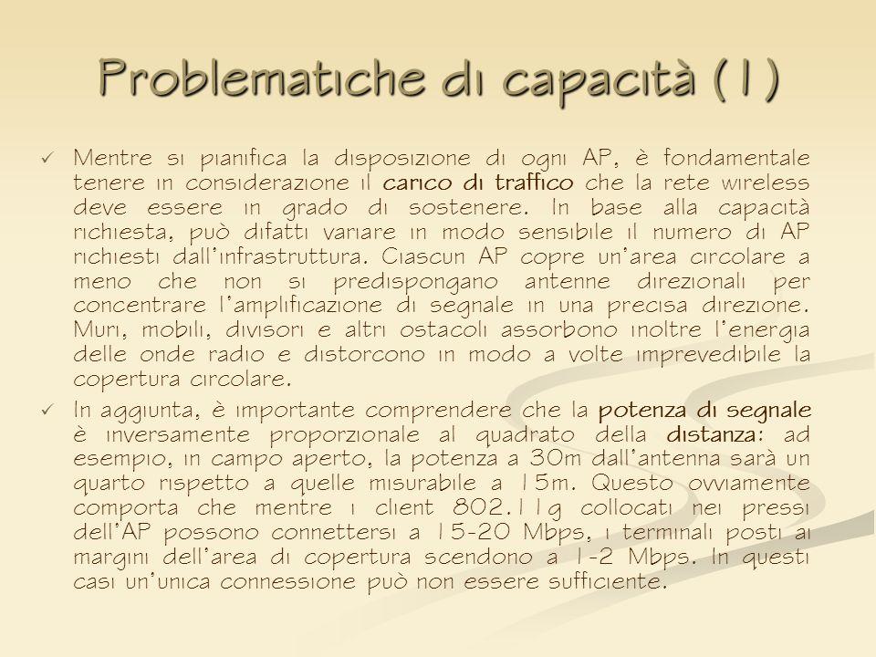 Problematiche di capacità (1)