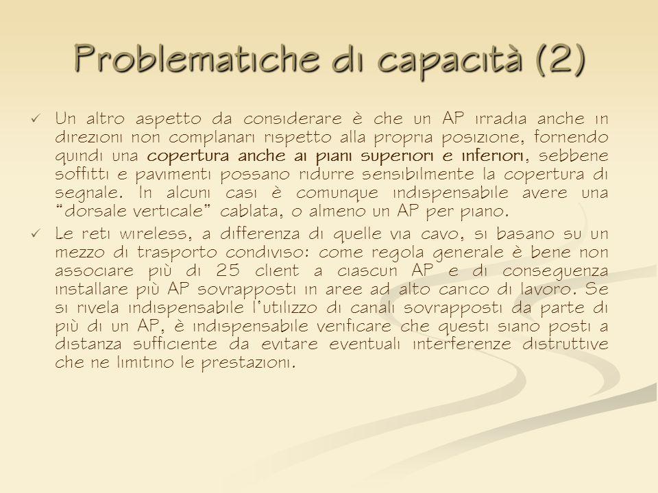 Problematiche di capacità (2)