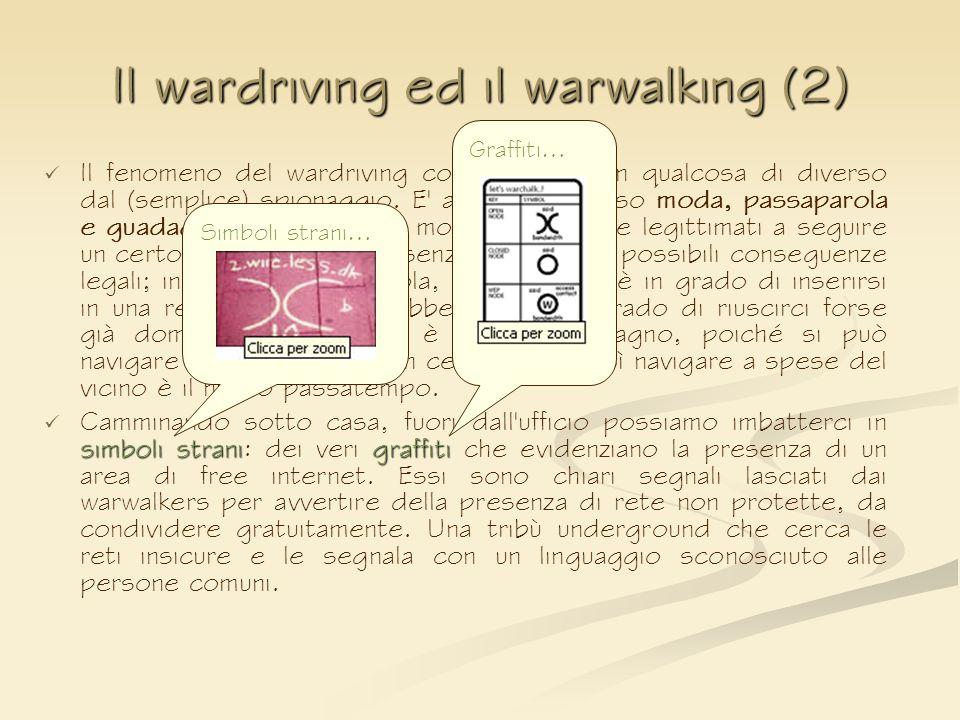 Il wardriving ed il warwalking (2)