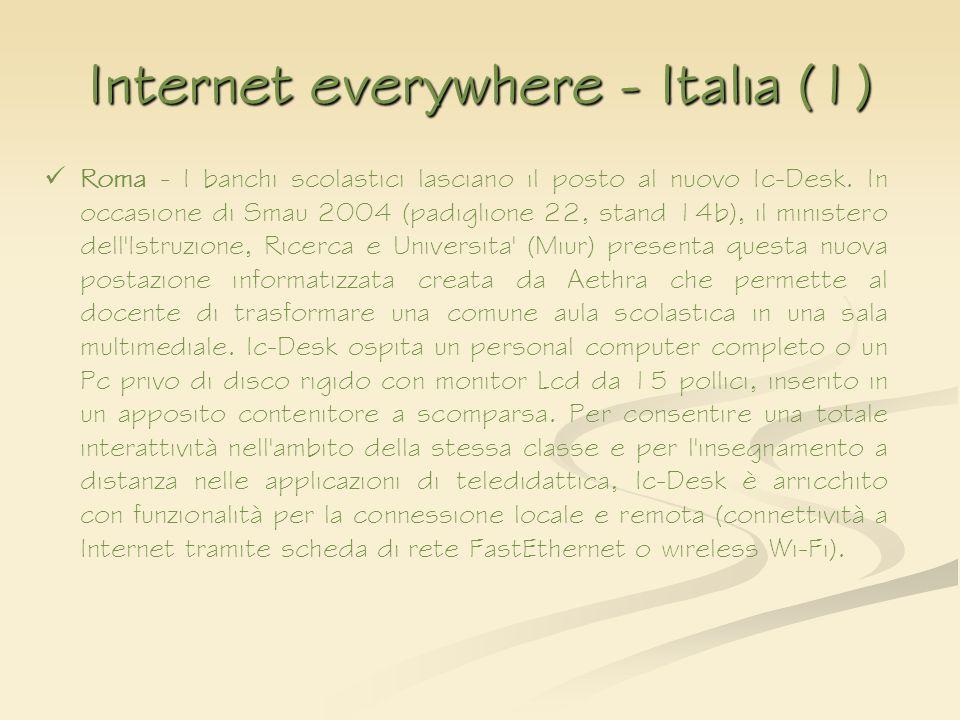 Internet everywhere - Italia (1)
