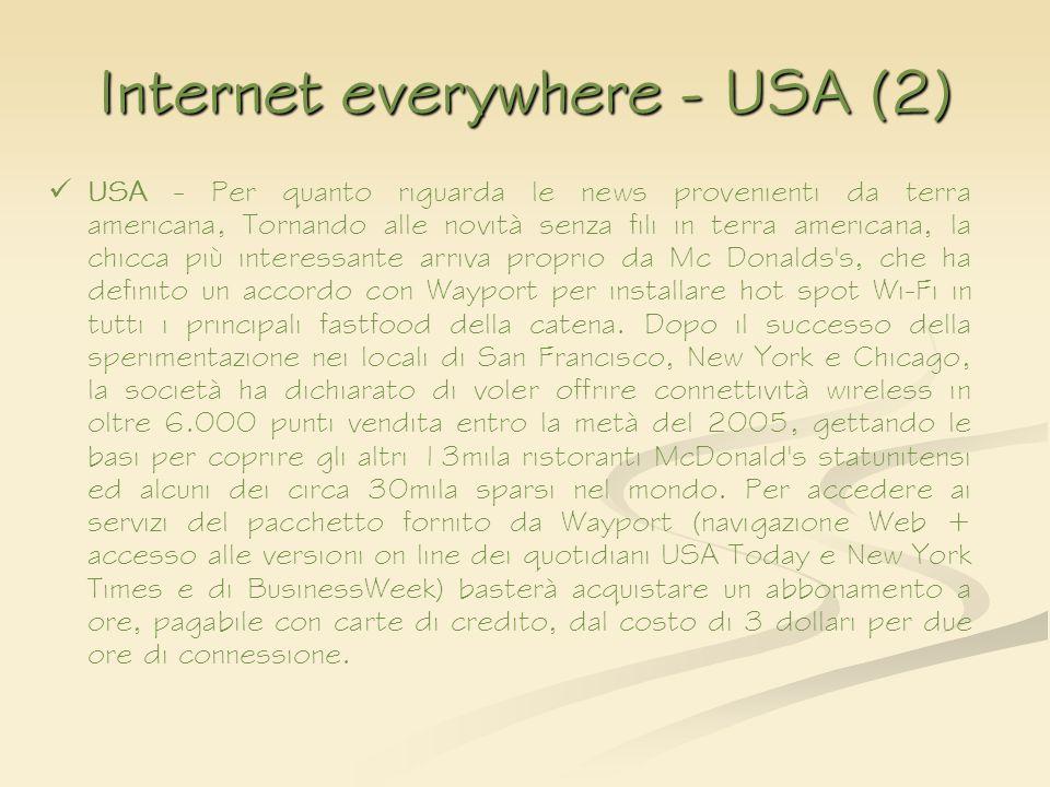 Internet everywhere - USA (2)