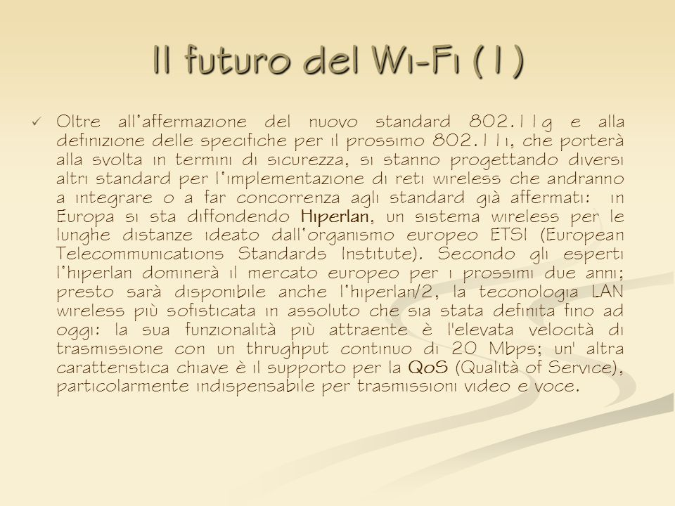 Il futuro del Wi-Fi (1)