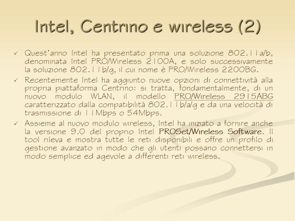 Intel, Centrino e wireless (2)