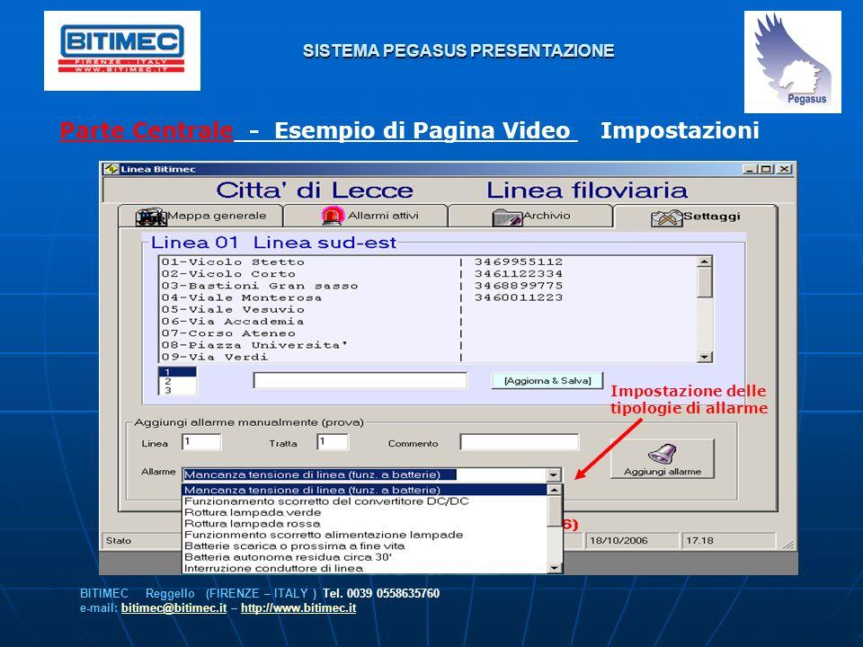 SISTEMA PEGASUS PRESENTAZIONE