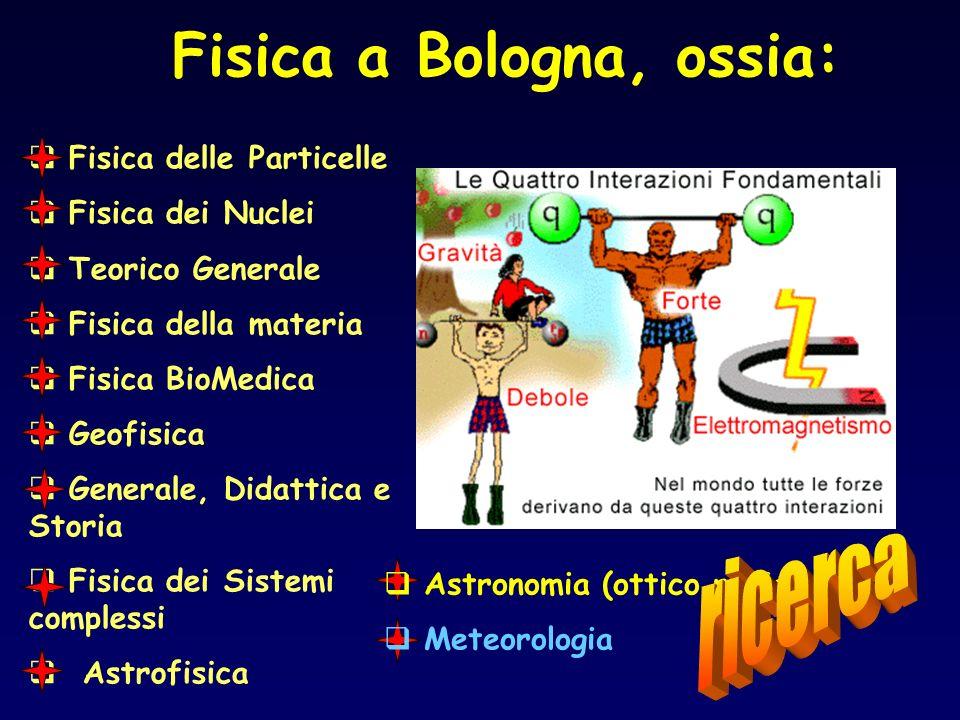 Fisica a Bologna, ossia: