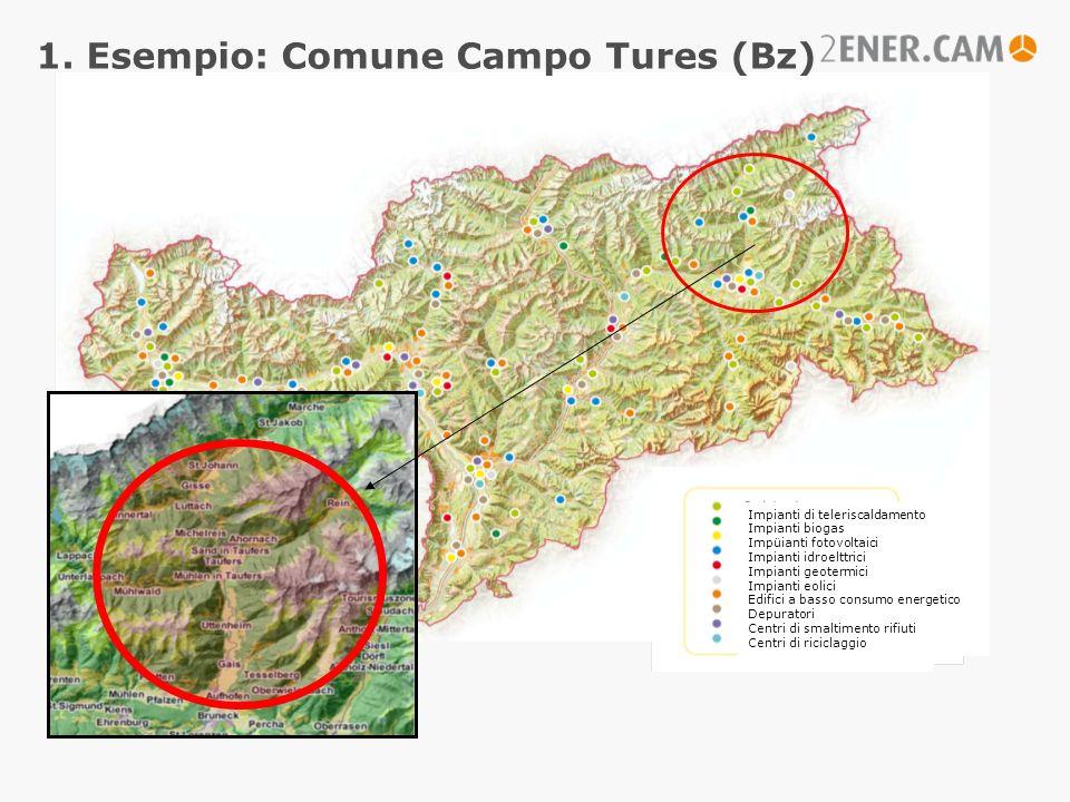 1. Esempio: Comune Campo Tures (Bz)