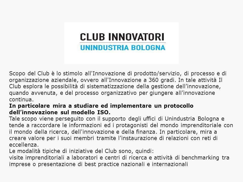 Le modalità tipiche di iniziative del Club sono, quindi: