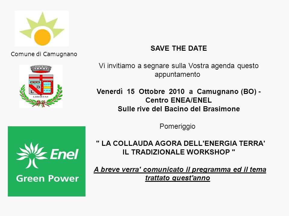 Venerdì 15 Ottobre 2010 a Camugnano (BO) - Centro ENEA/ENEL
