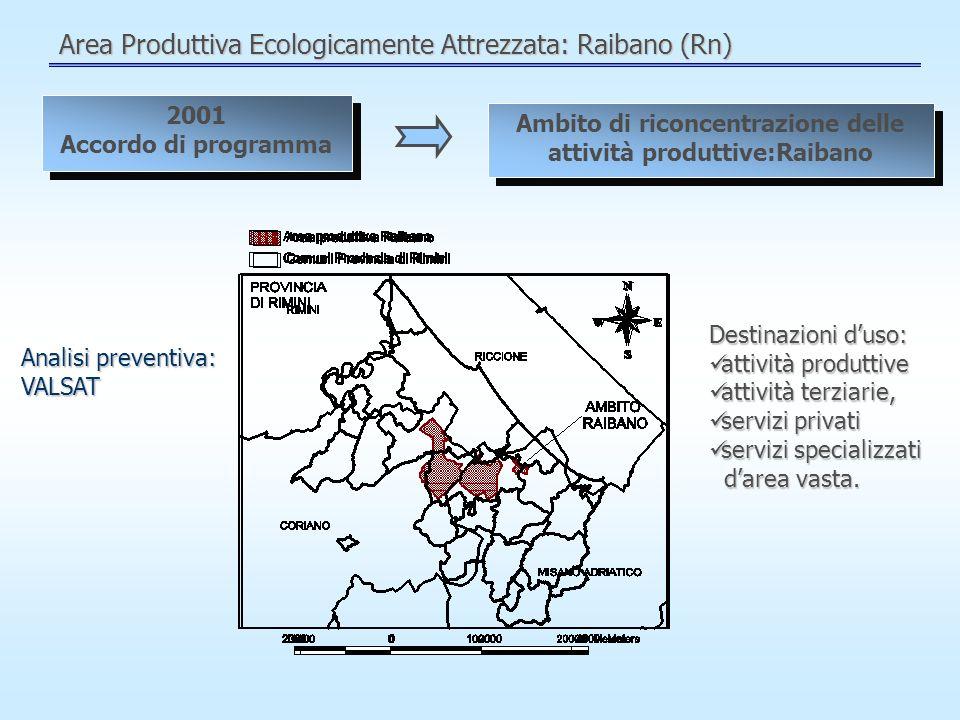 Area Produttiva Ecologicamente Attrezzata: Raibano (Rn)