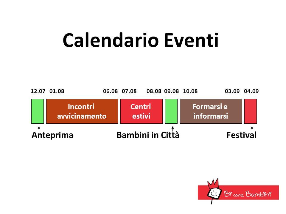 Calendario Eventi Anteprima Bambini in Città Festival Incontri