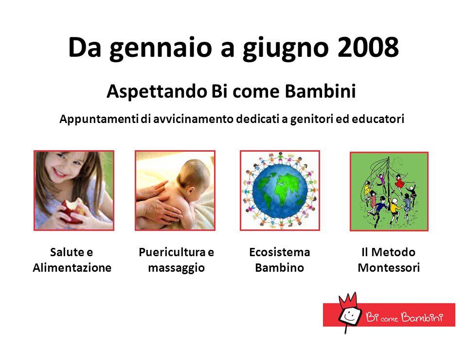 Da gennaio a giugno 2008 Aspettando Bi come Bambini
