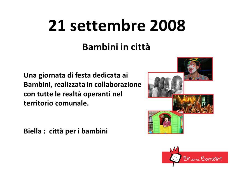 21 settembre 2008 Bambini in città