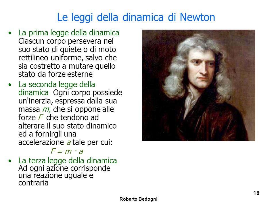 Le leggi della dinamica di Newton