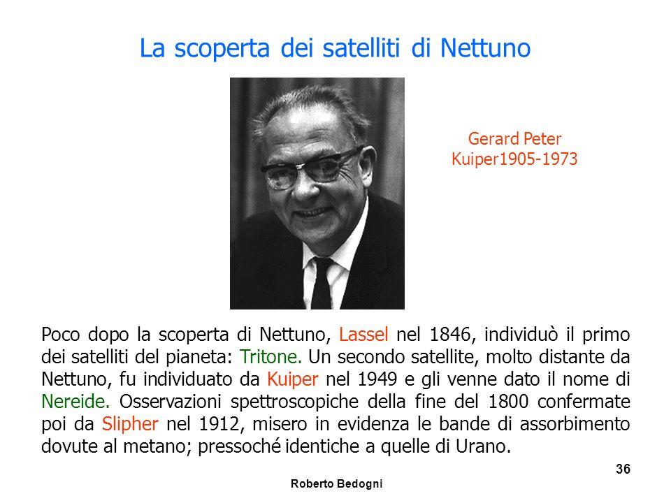 La scoperta dei satelliti di Nettuno