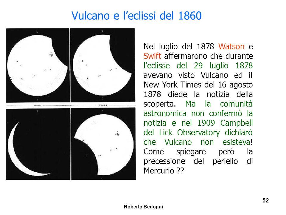 Vulcano e l'eclissi del 1860