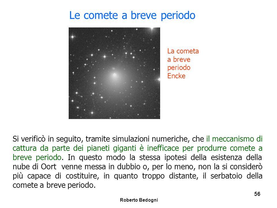 Le comete a breve periodo