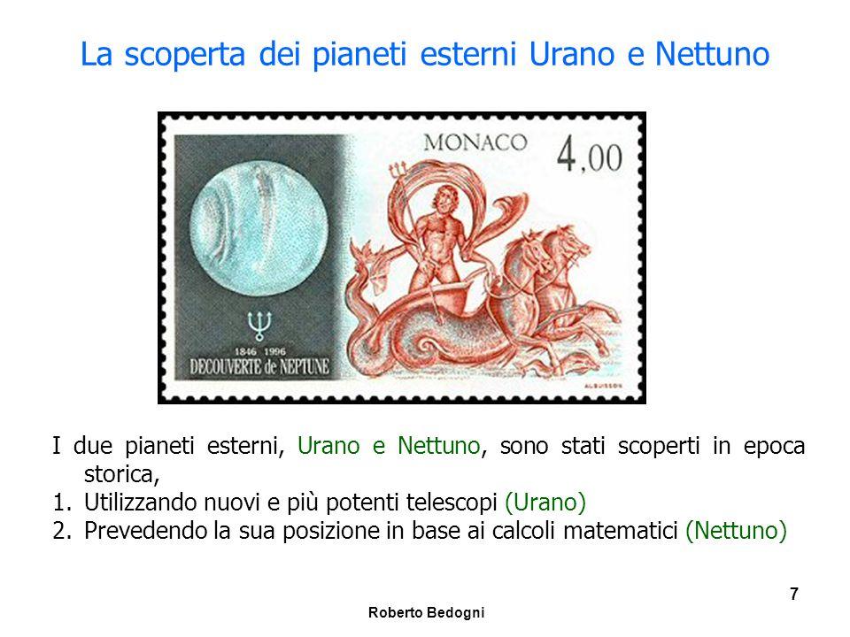 La scoperta dei pianeti esterni Urano e Nettuno
