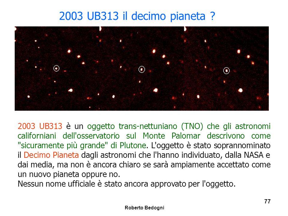 2003 UB313 il decimo pianeta