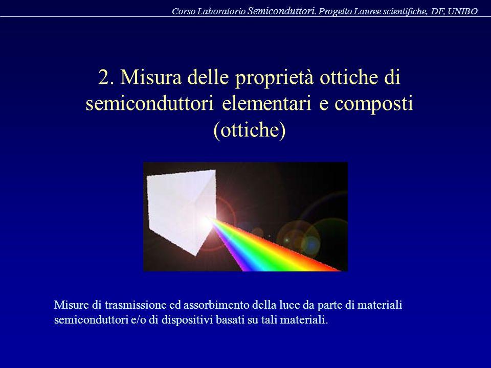 Corso Laboratorio Semiconduttori