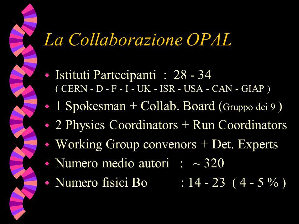 La Collaborazione OPAL