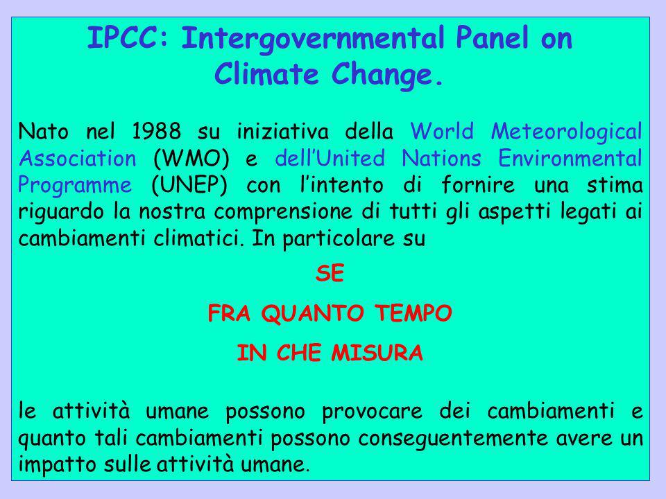 IPCC: Intergovernmental Panel on