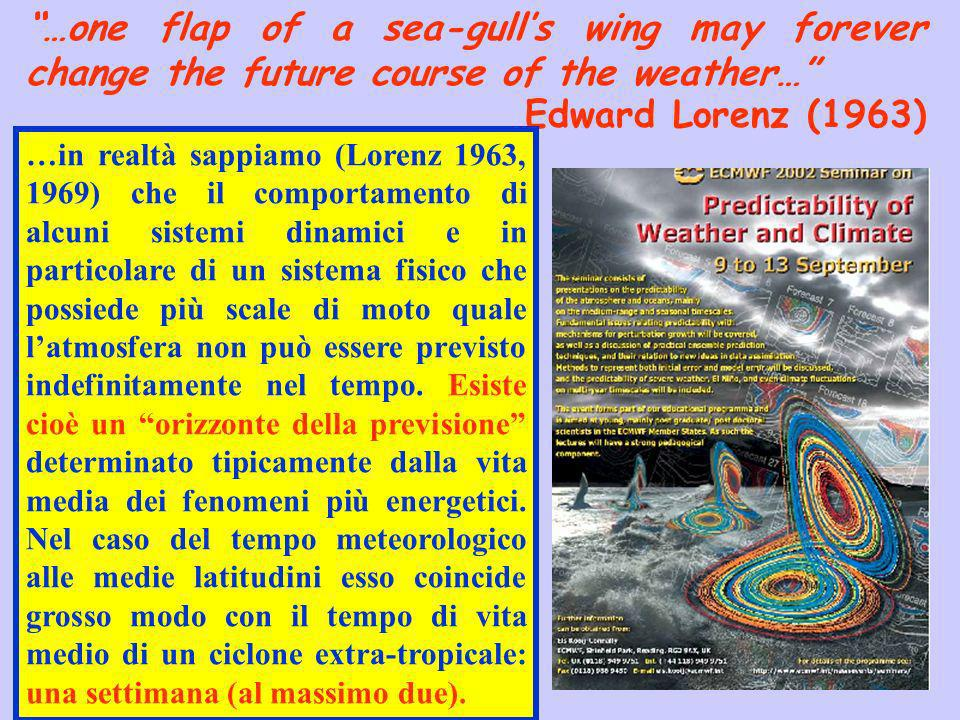 …one flap of a sea-gull's wing may forever change the future course of the weather…